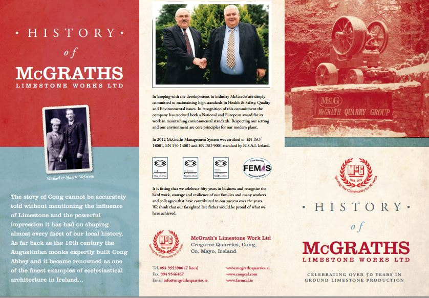 Mc Graths Brochure